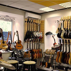 Музыкальные магазины Крапивинского