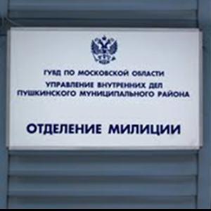 Отделения полиции Крапивинского